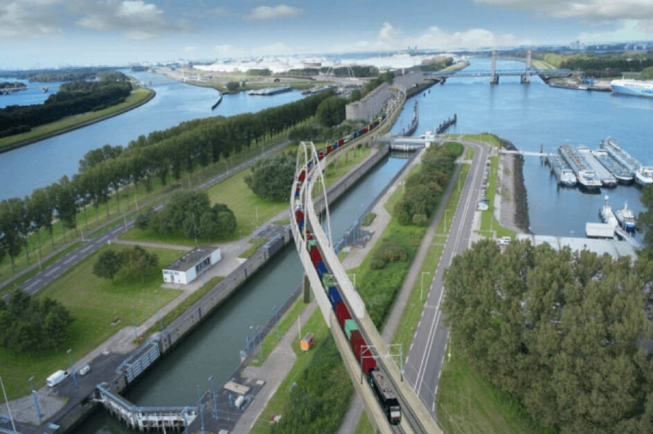 Port of Rotterdam: Spaghetti van ondergrondse infra