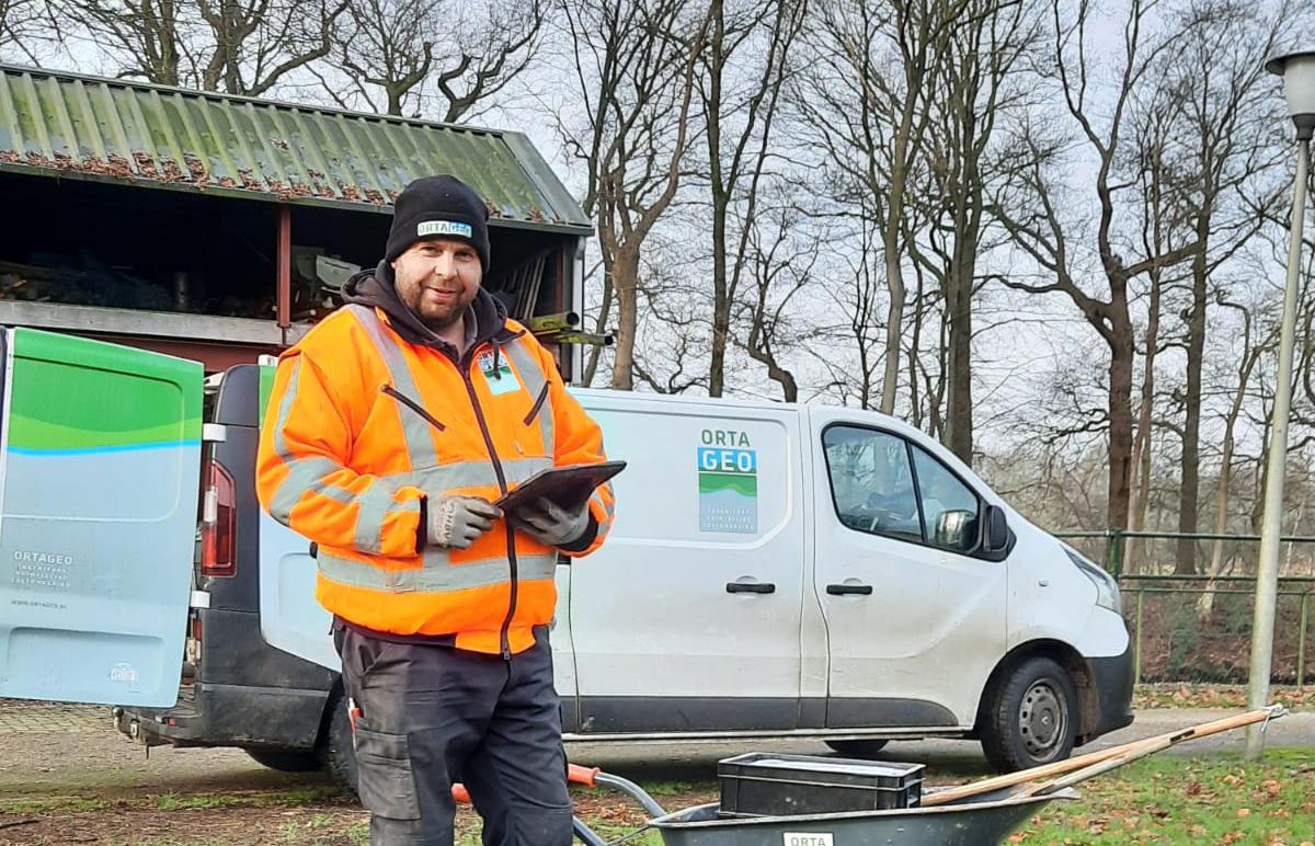 Arnold, veldmedewerker en échte boer uit Nieuwe Boeren